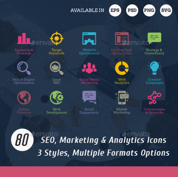 SEO Icons by floringheorghe | GraphicRiver