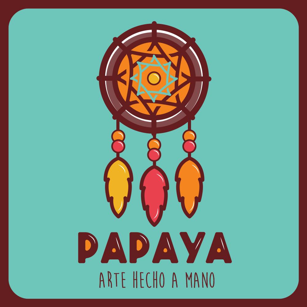 Papaya - Arte hecho a mano