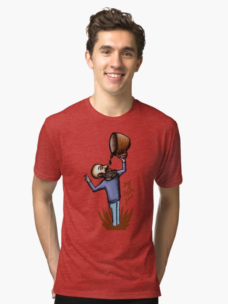 Camisetas de tejido mixto de angeldecuir | Redbubble