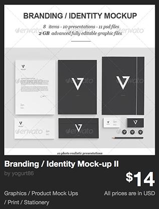 Branding / Identity Mock-up II by yogurt86 | GraphicRiver
