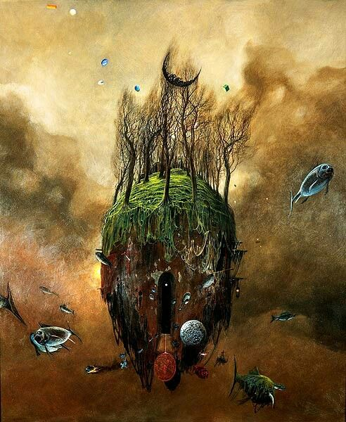 Zdzislaw Beksinski - illustration