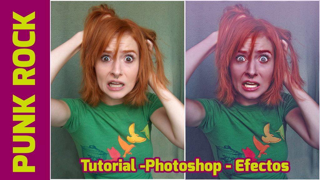 Tutorial - como crear efecto punk rock desde el Photoshop