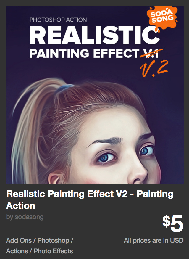 Realistic Painting Effect V2 - Painting Action by sodasong | GraphicRiver