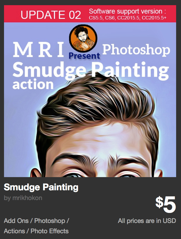 Smudge Painting by mrikhokon | GraphicRiver