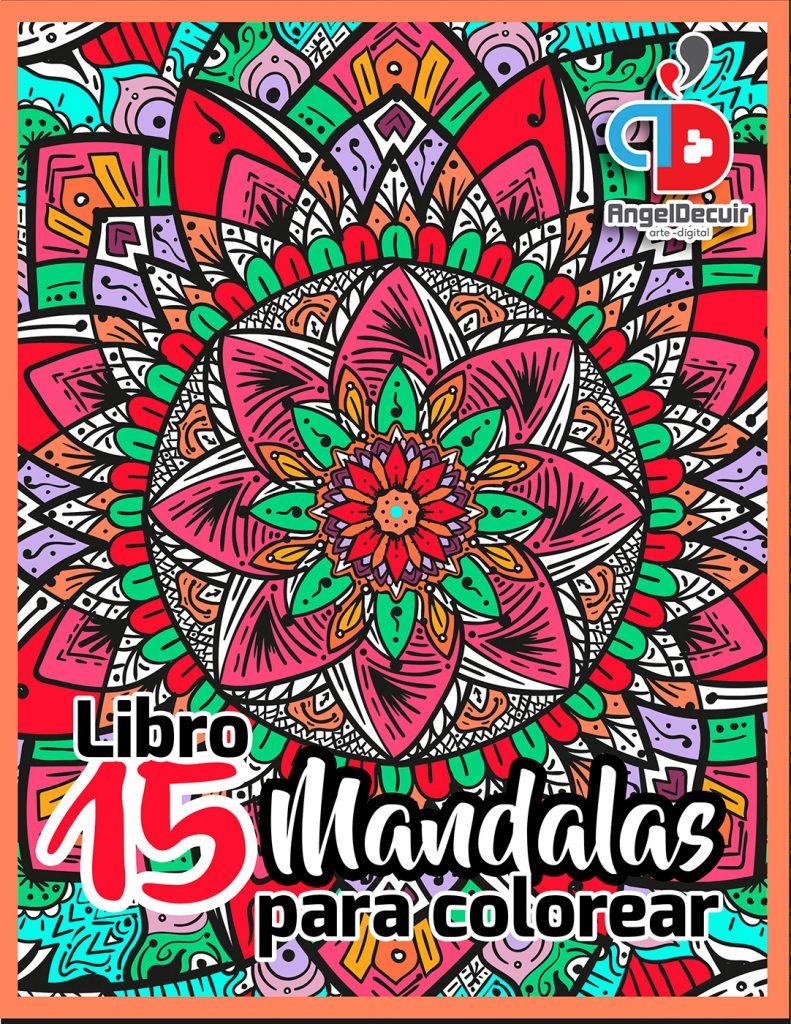 Libro 15 Mandalas para colorear en Kichink