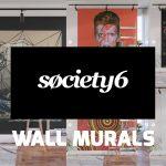 Society6 introduce Wall Mural