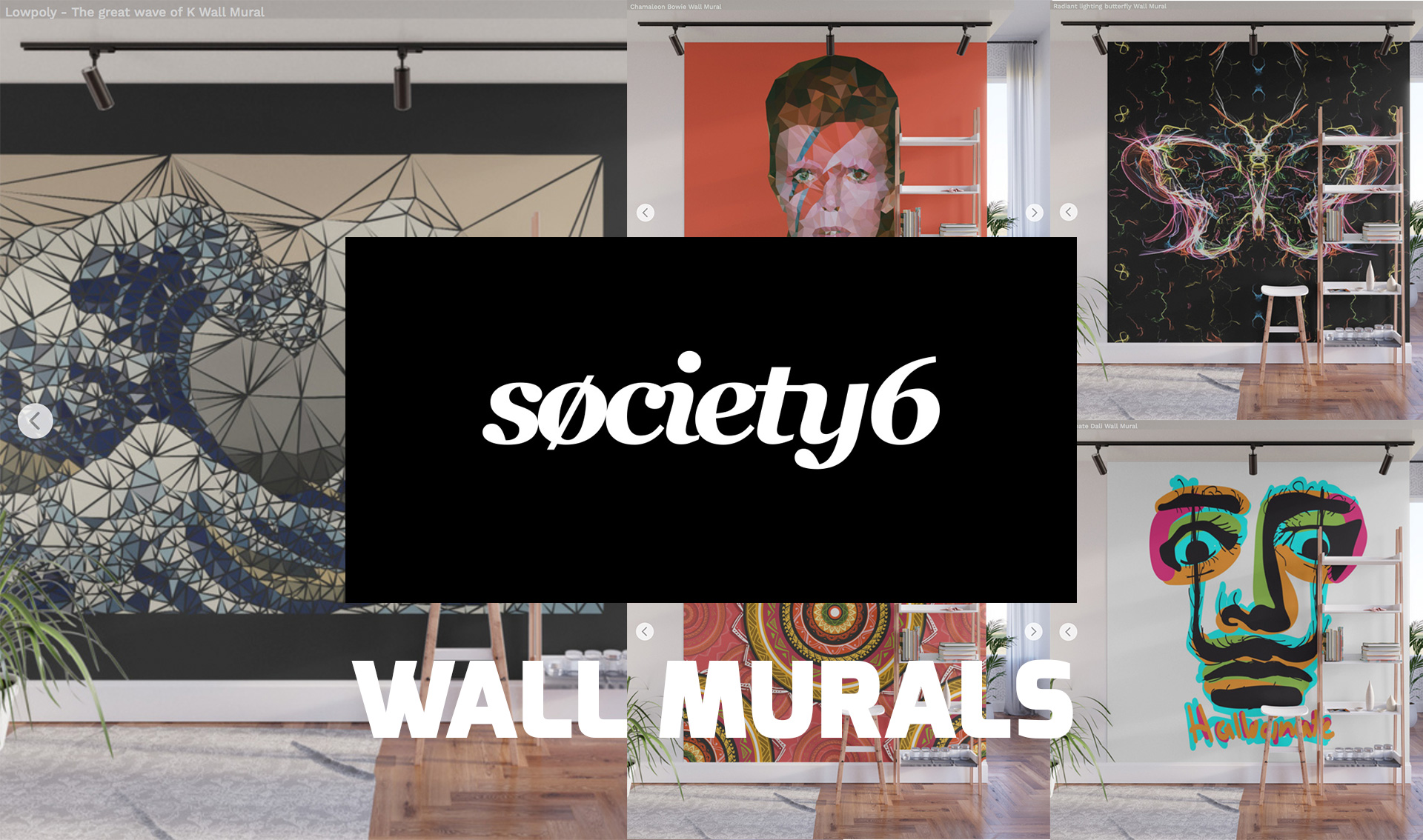 Society6 introduce Wall Mural