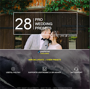 28 Pro Wedding Presets by zvolia | GraphicRiver