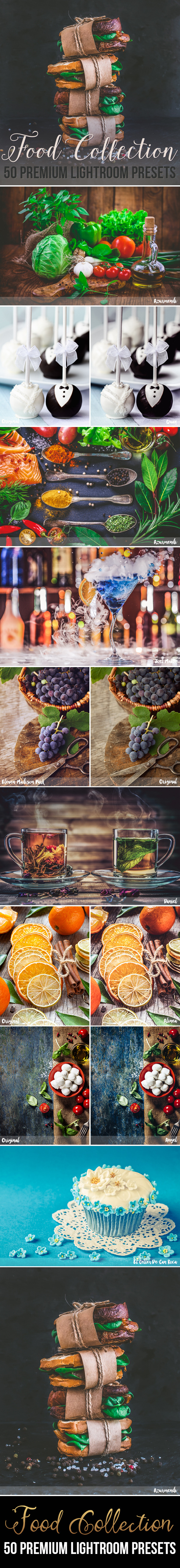 50 Premium Food Photography Lightroom Presets by beart-presets | GraphicRiver