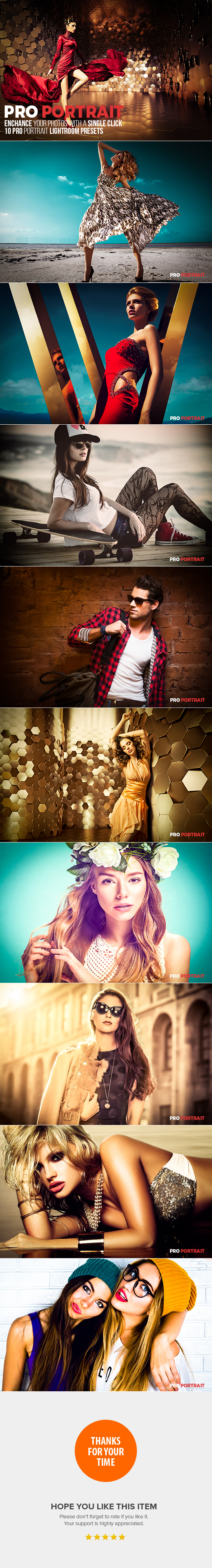 10 Pro Portrait Lightroom Presets by LrFlare-LRF | GraphicRiver