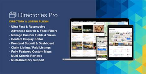 Directories Pro plugin for WordPress by onokazu   CodeCanyon
