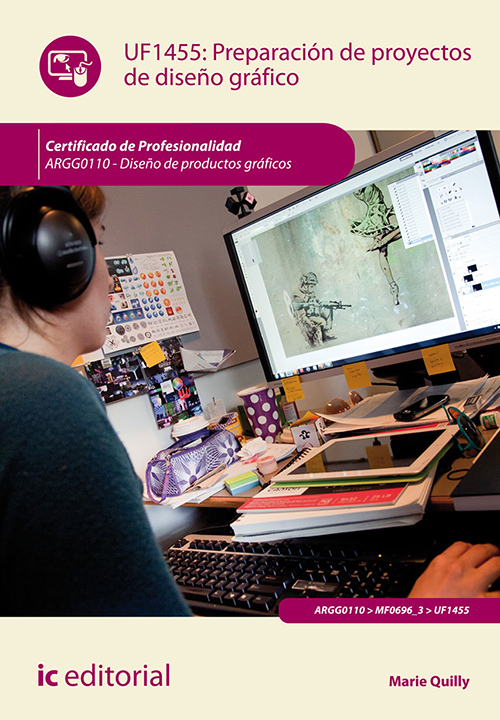 Preparación de proyectos de diseño gráfico por Marie Quilly en iBooks