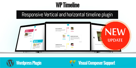 WP Timeline – Responsive Vertical and Horizontal timeline plugin by Ex-Themes