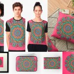 Great Mandala Hand Made 1 para Redbubble