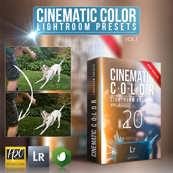 20 Cinematic Color Lightroom Presets by H2ObrothersDesign | GraphicRiver