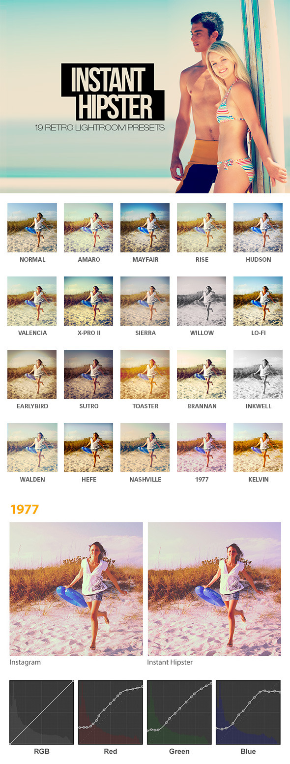 Instant Hipster - 19 Retro Effects by sparklestock | GraphicRiver