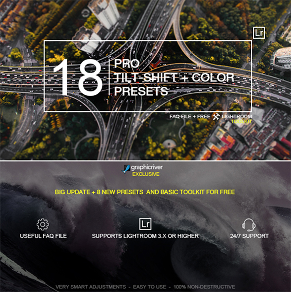 18 Pro Tilt-Shift Presets by zvolia | GraphicRiver