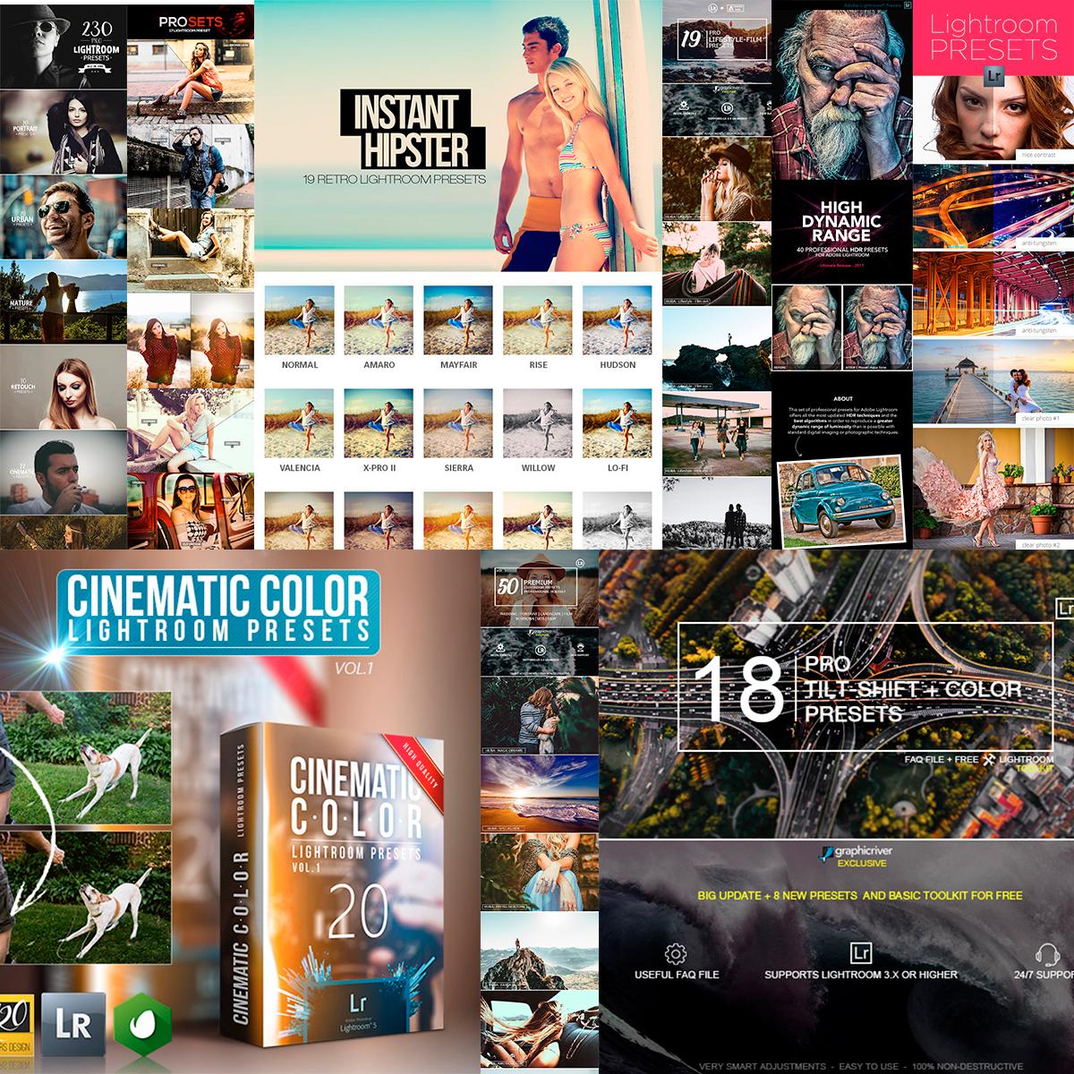 15 Lightroom Presets de GraphicRiver