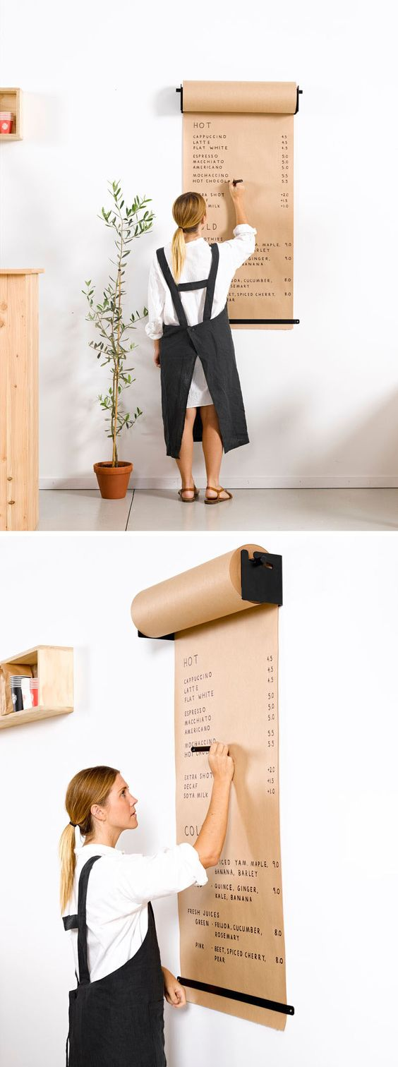 Minimalist and functional- the Studio Roller - designed by lifestyle company George and Willy