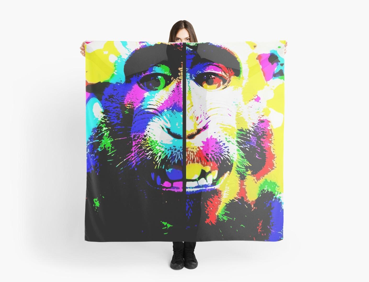 Mono alucinado para Redbubble