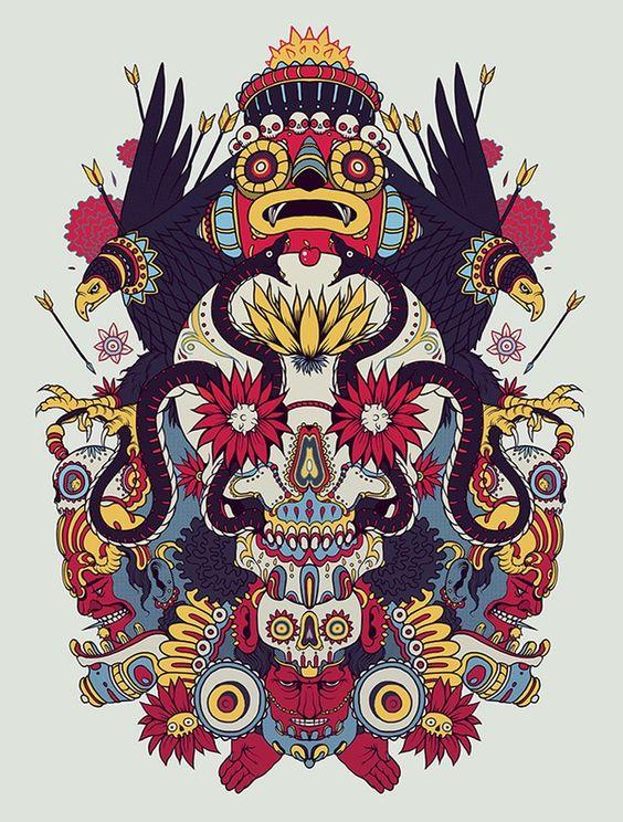 Ilustración de Raul Urias y Mostasho