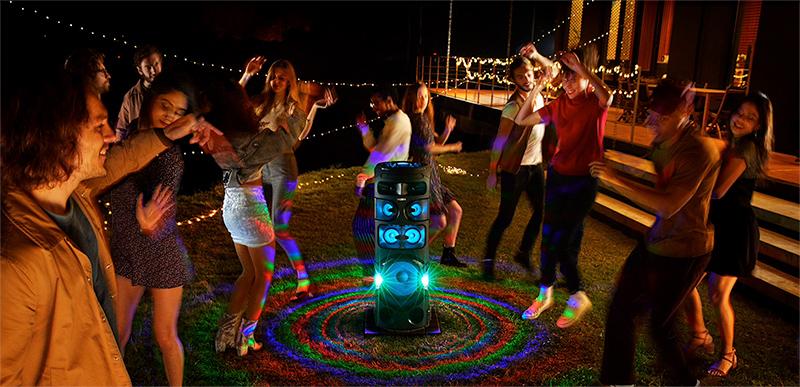 fiesta y sonido 360