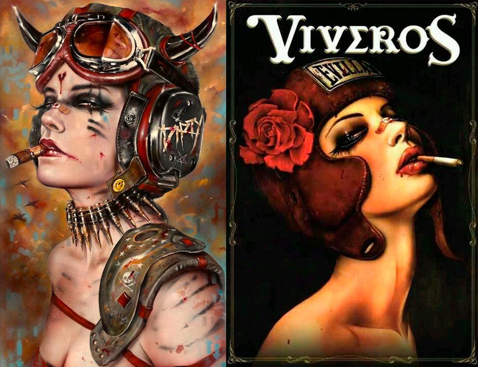 Brian M Viveros - Ilustración y arte digital