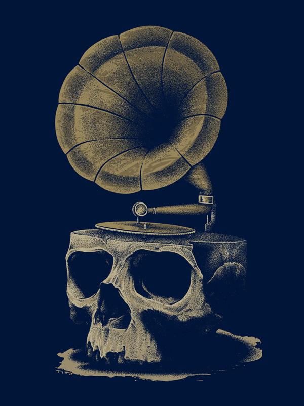 Introductory Song of Death - inkcorf - Ilustración