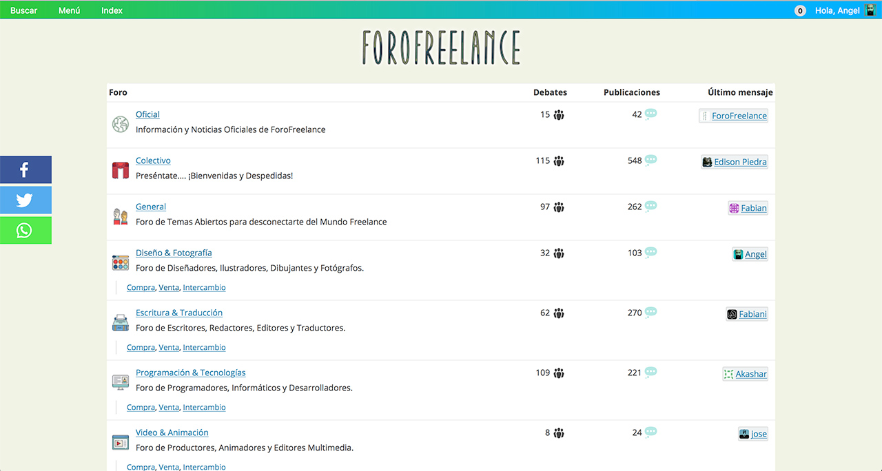 ¡Freelance 24 horas... con ForoFreelance!