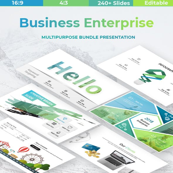 Business Enterprise Powerpoint Template by ESTE_Studio | GraphicRiver