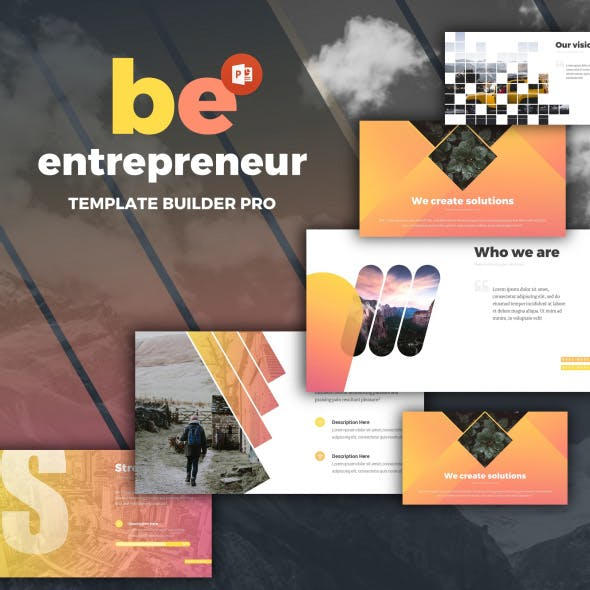 Entrepreneur Powerpoint by EvgenyBagro | GraphicRiver