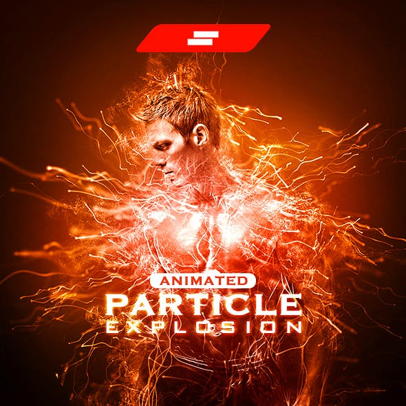 Gif Animated Particle Explosion Photoshop Action by sreda | GraphicRiver