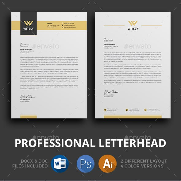 Letterhead by jpixel55 | GraphicRiver