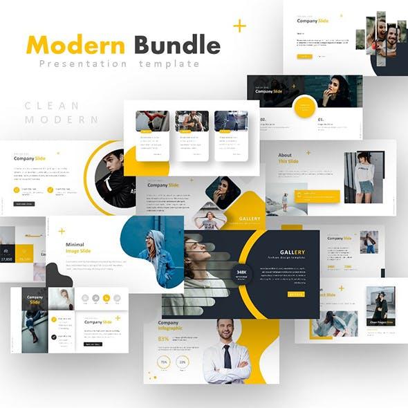 Modern Powerpoint Bundle by design_blast | GraphicRiver