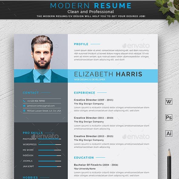 Resume by DesignDevisers | GraphicRiver