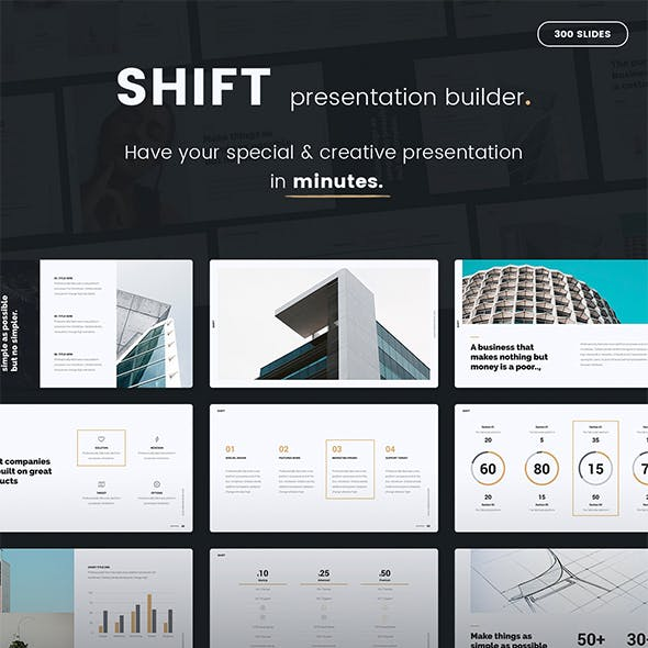Shift Presentation Builder v1 (PPTX) by SimpleSmart | GraphicRiver