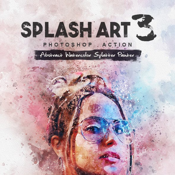 Splash Art 3 Photoshop Action by IndWorks | GraphicRiver