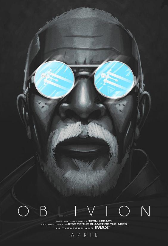 Póster alternativo de la película Oblivion por Luis Romo.