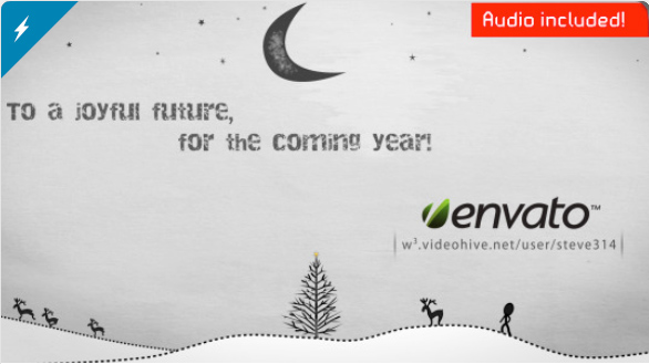 Inkman presents Xmas & New year's Greetings (AE) by steve314 | VideoHive