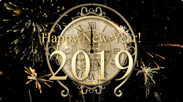 New Year Countdown Clock 2019 by IronykDesign | VideoHive