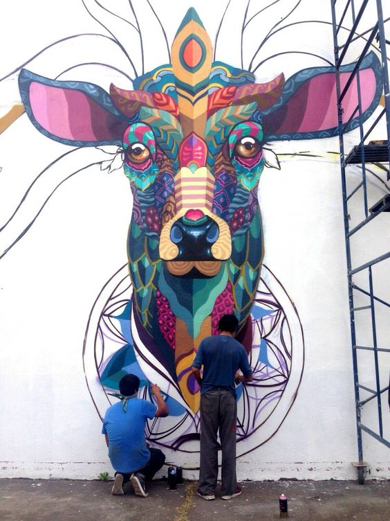 Farid Rueda - mural