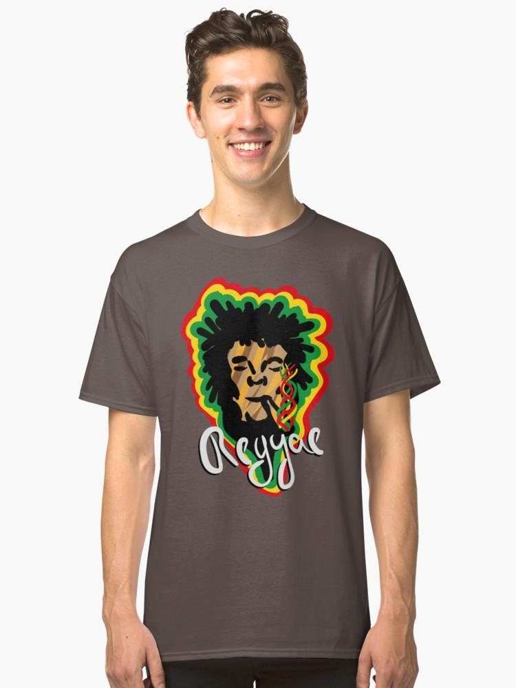 Camiseta clásica - Smoke Reggae - Angel Decuir - Redbubble