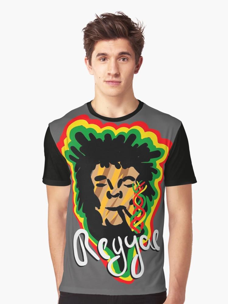 Camisetas gráficas «Smoke Reggae» de angeldecuir | Redbubble