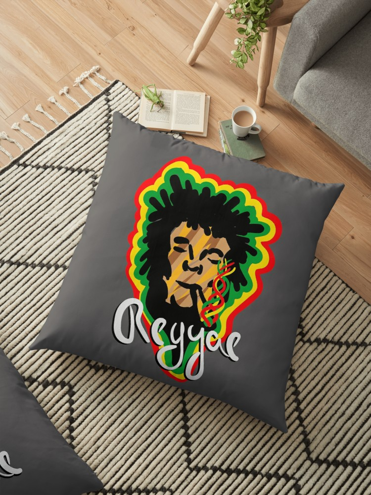 Cojines de suelo «Smoke Reggae» de angeldecuir | Redbubble