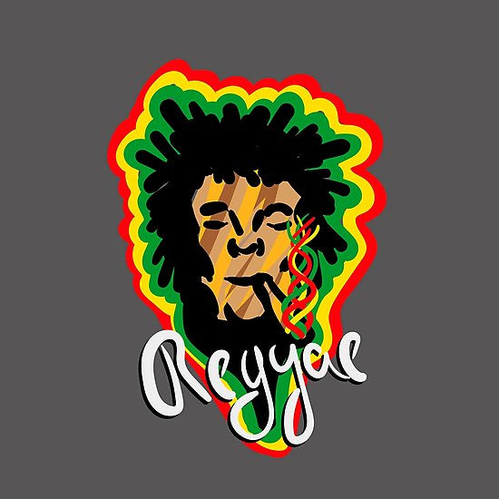 Para rastafaris un Art print de Smoke Reggae en Redbubble