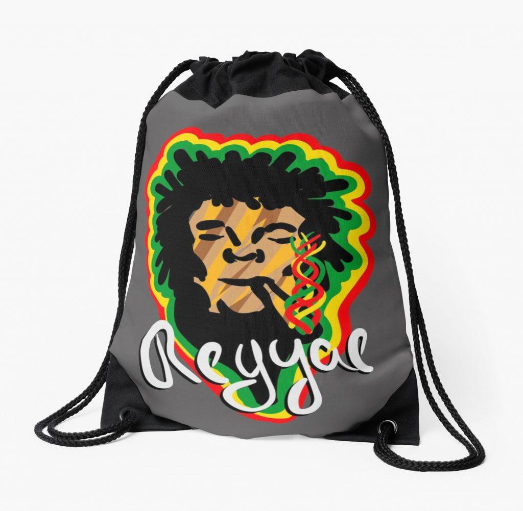 Mochilas de cuerdas «Smoke Reggae» de angeldecuir | Redbubble