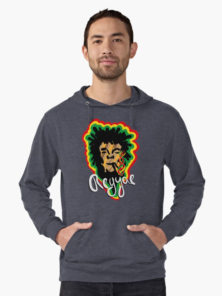 Sudaderas con capucha ligeras «Smoke Reggae» de angeldecuir | Redbubble