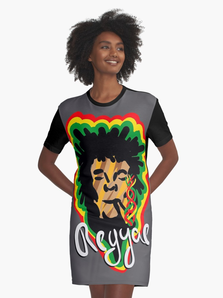 Vestidos camiseta «Smoke Reggae» de angeldecuir | Redbubble