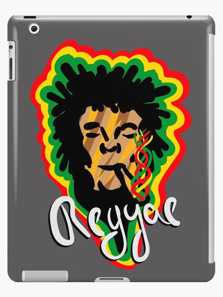 Vinilos y fundas para iPad «Smoke Reggae» de angeldecuir | Redbubble