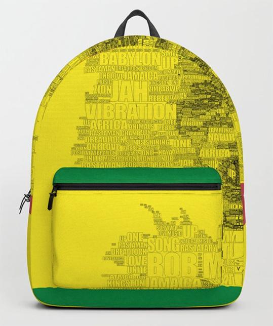 Words of Reggae Backpack by angeldecuir | Society6